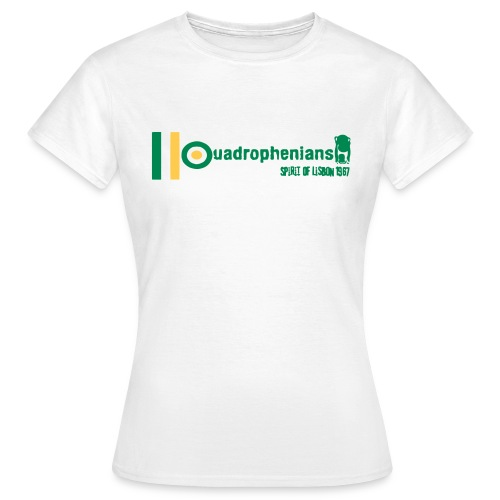 Quadrofenians SOL67 (digital print) - Women's T-Shirt