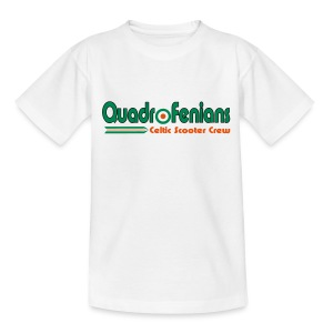 Quadrofenians (digital print) - Teenage T-shirt