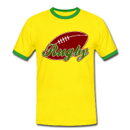 Tee shirts ~ Tee shirt contraste Homme ~ T shirt homme rugby