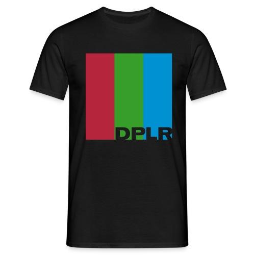 DPLR Test Card Tee - Männer T-Shirt