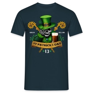 [St Patrick] bleu - Men's T-Shirt