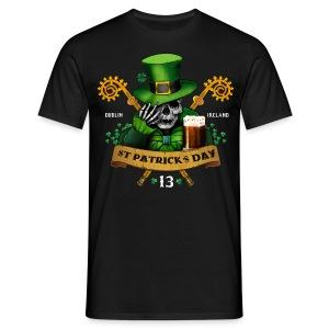 [St Patrick] noir - Men's T-Shirt