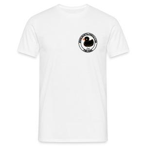 Klassinen t-paita Musta-Ankka - Miesten t-paita