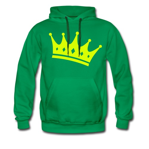 Crown Hoodie - Miesten premium-huppari
