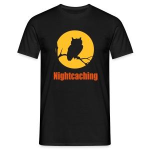 Nightcaching Owl 2 - Männer T-Shirt