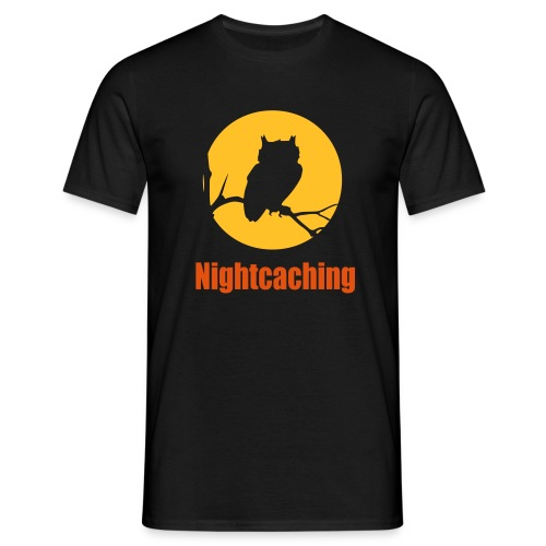 Nightcaching Owl 2 - Männer T-Shirt