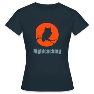 Nightcaching Owl 2 - Frauen T-Shirt