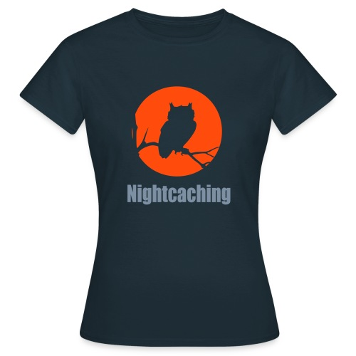 Nightcaching Owl 2 - Frauen T-Shirt