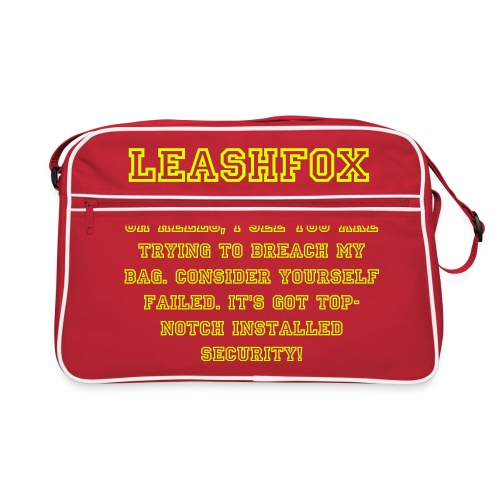 LeashFox Security bag - Retro Bag