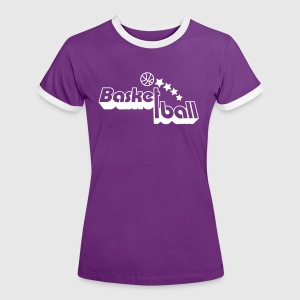 basketball T-Shirts - Frauen Kontrast-T-Shirt