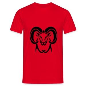 Shirt Widder - Männer T-Shirt