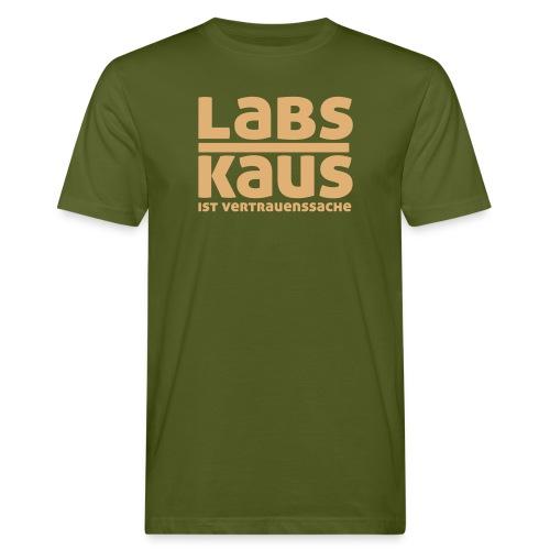 Labskaus ist Vertrauenssache - Männer Bio-T-Shirt