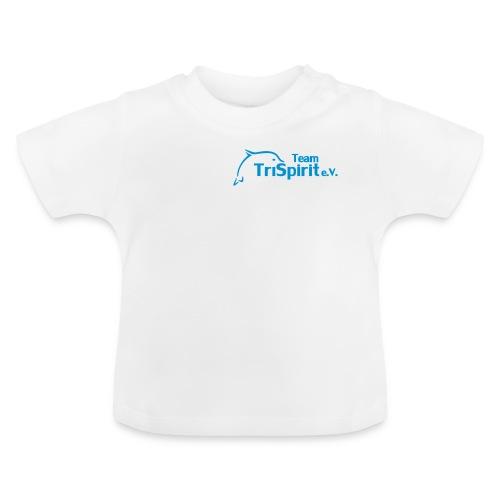 Leni Shirt blaues Logo - Baby T-Shirt