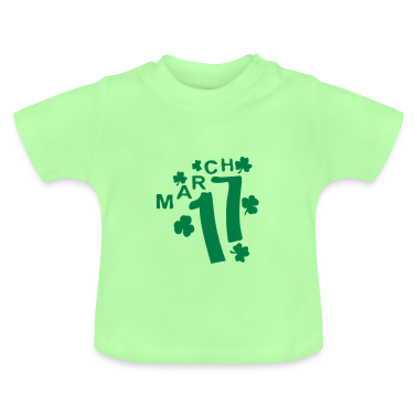 March 17 shamrock st.patty's day Baby T-Shirt