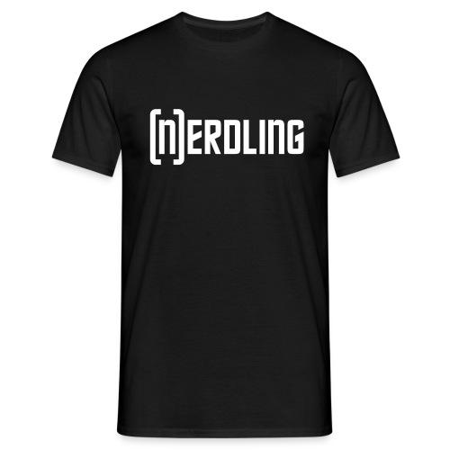 (N)ERDLING weiß - Männer T-Shirt
