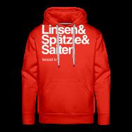 Pullover & Hoodies ~ Männer Premium Kapuzenpullover ~ Linsa Hoodie Boys Red