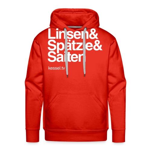 Linsa Hoodie Boys Red - Männer Premium Hoodie