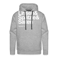 Pullover & Hoodies ~ Männer Premium Kapuzenpullover ~ Linsa Hoodie Boys Grey