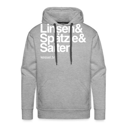 Linsa Hoodie Boys Grey - Männer Premium Hoodie