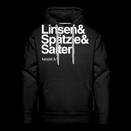 Pullover & Hoodies ~ Männer Premium Kapuzenpullover ~ Linsa Hoodie Boys Black