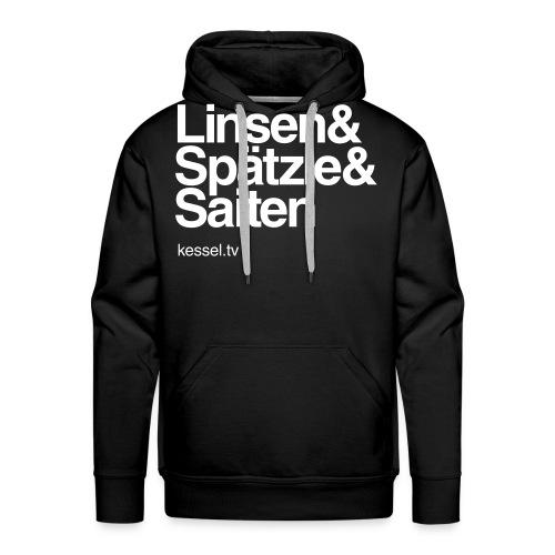 Linsa Hoodie Boys Black - Männer Premium Hoodie