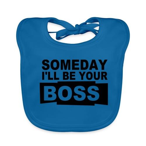 I'm your boss slabbetje - Bio-slabbetje voor baby's