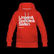 Pullover & Hoodies ~ Frauen Premium Kapuzenpullover ~ Linsa Hoodie Girls Red