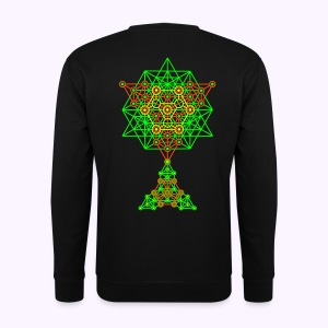 Equilibrium UV-Neon 2-Side Print - Men's Sweater - Mannen sweater