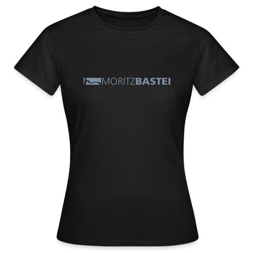 Moritzbastei-Logo in Silber - Frauen T-Shirt