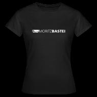 T-Shirts ~ Frauen T-Shirt ~ Moritzbastei-Logo in Weiß