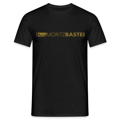 Moritzbastei-Logo in Gold - Männer T-Shirt