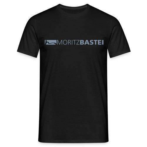 Moritzbastei-Logo in Silber - Männer T-Shirt