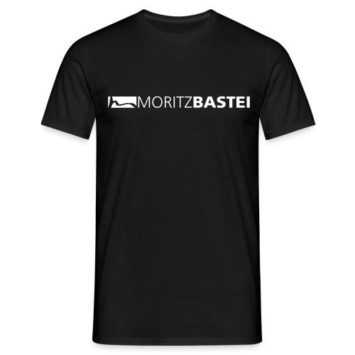 Moritzbastei-Logo in Weiß - Männer T-Shirt