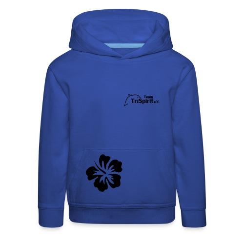 Leni Blumen Pullover schwarzes Logo - Kinder Premium Hoodie