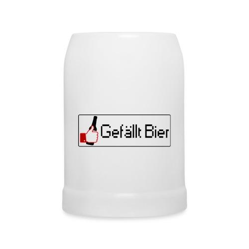 GEFÄLLT BIER KRUG - Bierkrug