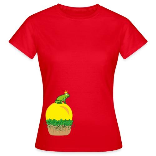 Froschcupcake - Frauen T-Shirt