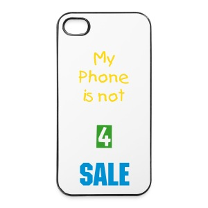 iPhone 4/4s Case My phone is not 4 sale - iPhone 4/4s Hard Case