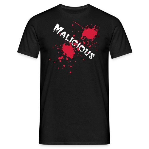 malicious designs - Men's T-Shirt