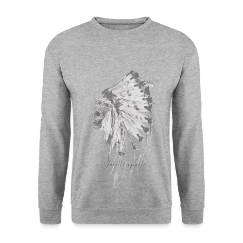 Sweat-shirt Indian's skull Jats - Sweat-shirt Homme