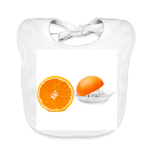 Orange pressée - Bavoir bio Bébé