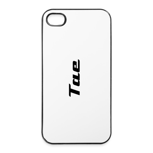 Black Tae iPhone 4/4s Cover - iPhone 4/4s Hard Case