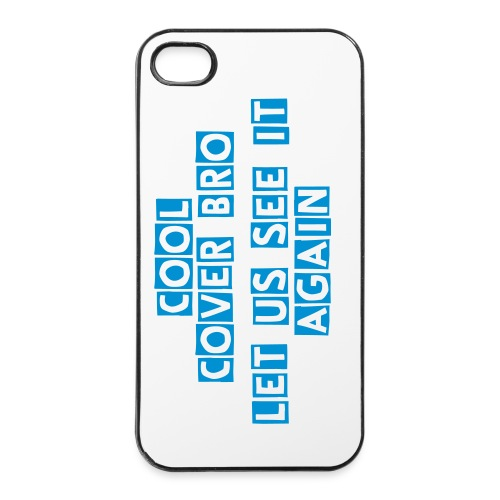Blue Bro iPhone 4/4s Cover - iPhone 4/4s Hard Case