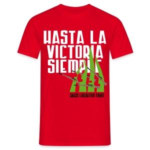 Oscar heren tshirt - Grass Liberation Front - Mannen T-shirt