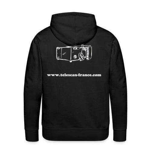 Sweat Telescan-France - Sweat-shirt à capuche Premium pour hommes