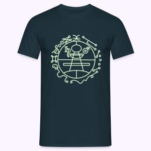 Key of Solomon Glow-in-Dark Classic Men's Shirt - Mannen T-shirt