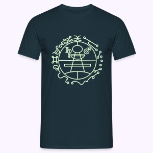 Key of Solomon Glow-in-Dark Classic Men's Shirt - Mannen T-shirt