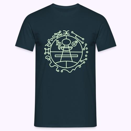 Key of Solomon Glow-in-Dark Classic Men's Shirt - Herre-T-shirt