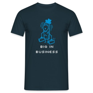 Cucumber - Big in Business - Männer T-Shirt