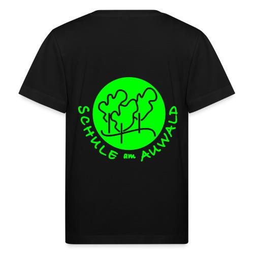 T-Shirt Bio mit Logo hinten - Kinder Bio-T-Shirt