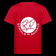 T-Shirts ~ Kinder Bio-T-Shirt ~ T-Shirt Bio mit Logo hinten weiß